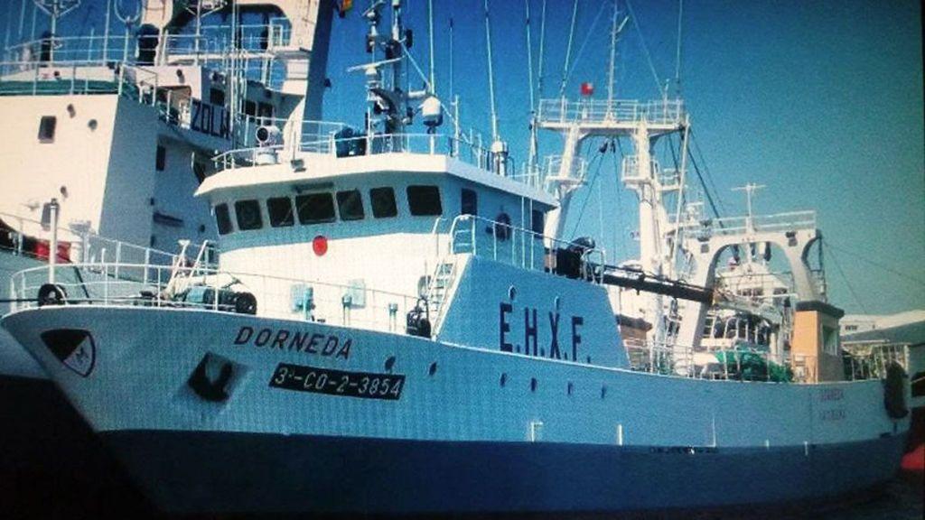 El hundimiento del pesquero gallego en Argentina pudo producirse al entrar agua por una rampa