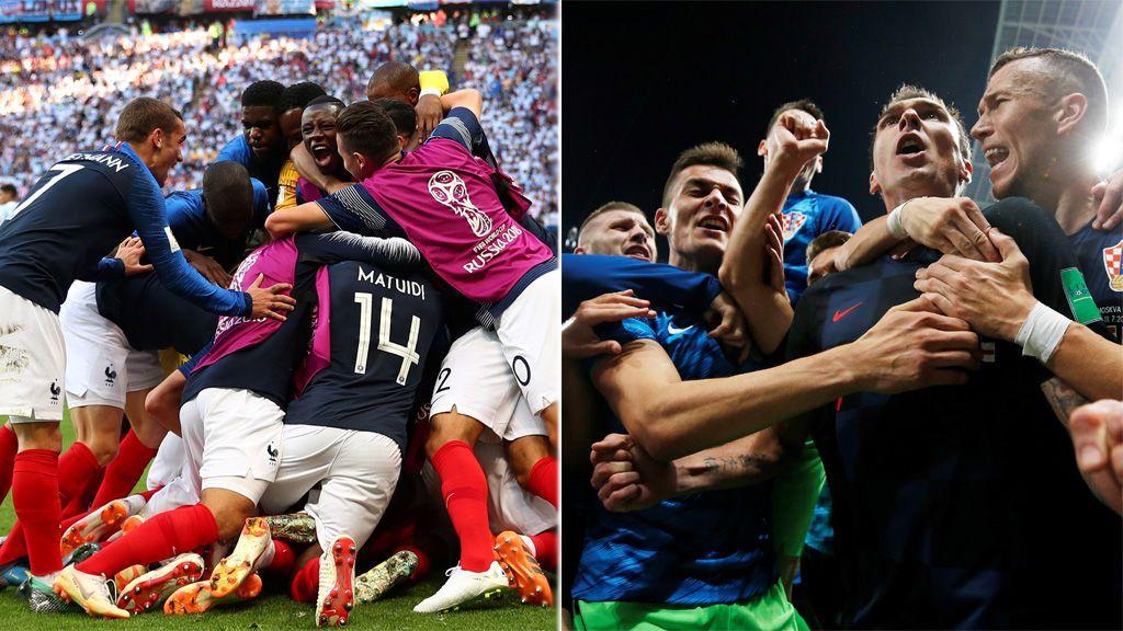 Francia y Croacia se juegan el título de campeona del Mundo este domingo a las 17.00 horas en Telecinco, Mitele.es y la App de Mediaset Sport