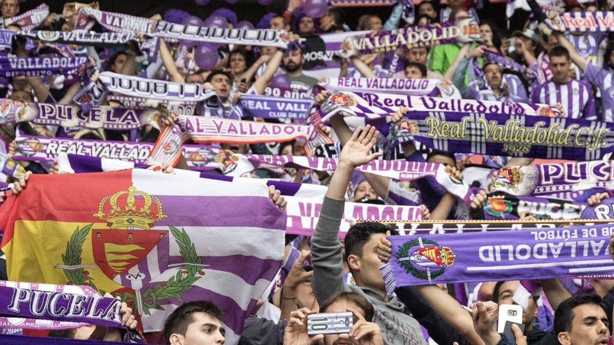 Una plataforma exige que el Real Valladolid cambie su escudo por lucir un símbolo franquista