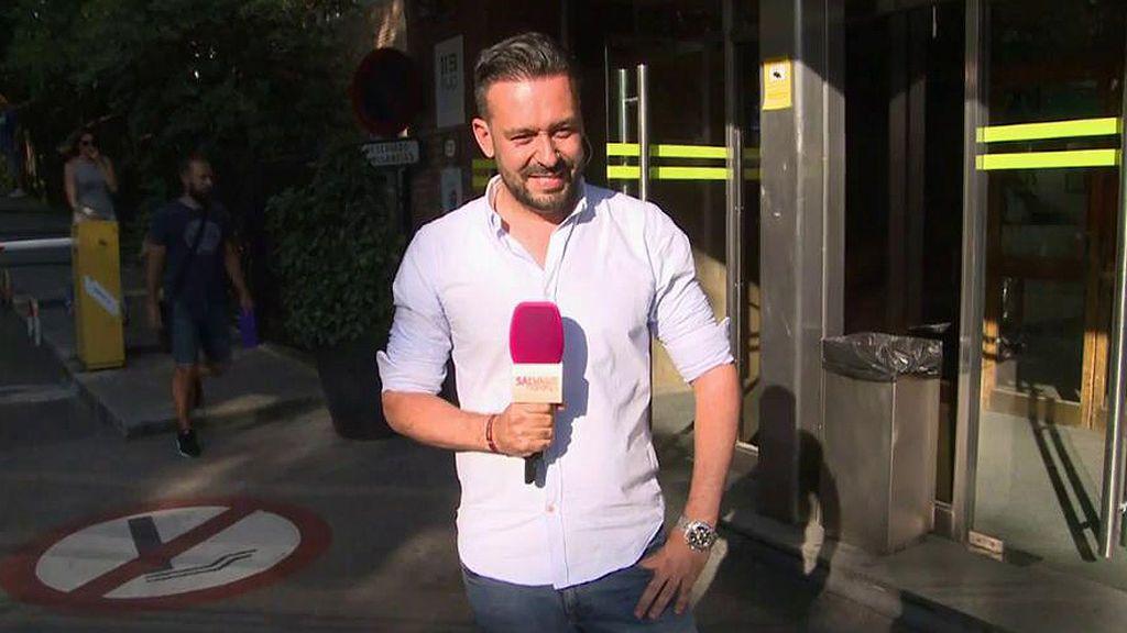 """Kike Calleja, emocionado después de hablar Con Terelu: """"Se encuentra muy bien"""""""