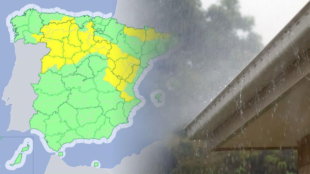 Gran granizo, viento muy fuerte y lluvias: 19 provincias, en aviso por las tormentas de la DANA