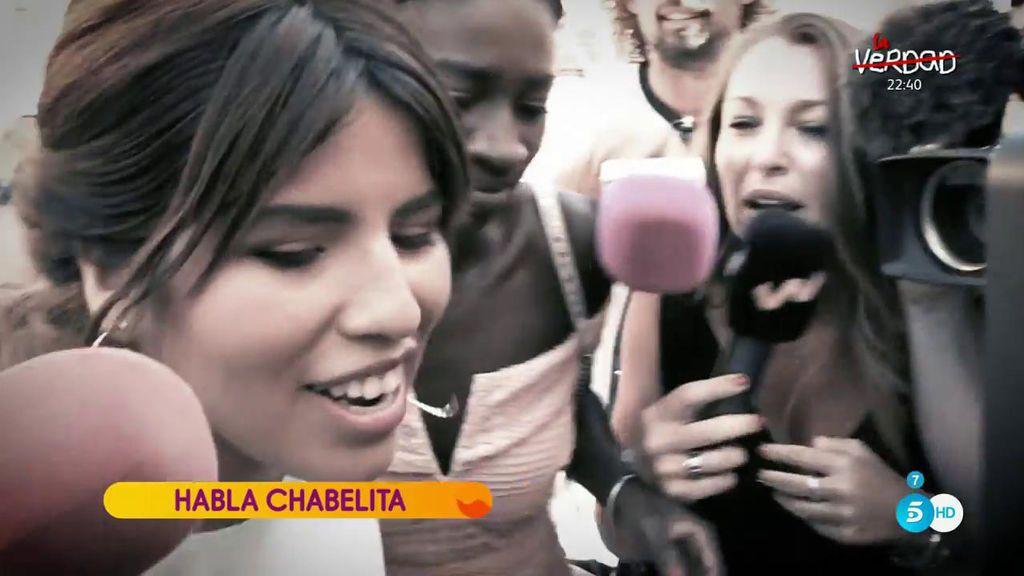 """Chabelita: """"Pedí a mi madre que fuera la madrina para acercarme a ella pero en quien siempre pensé fue en Dulce"""""""