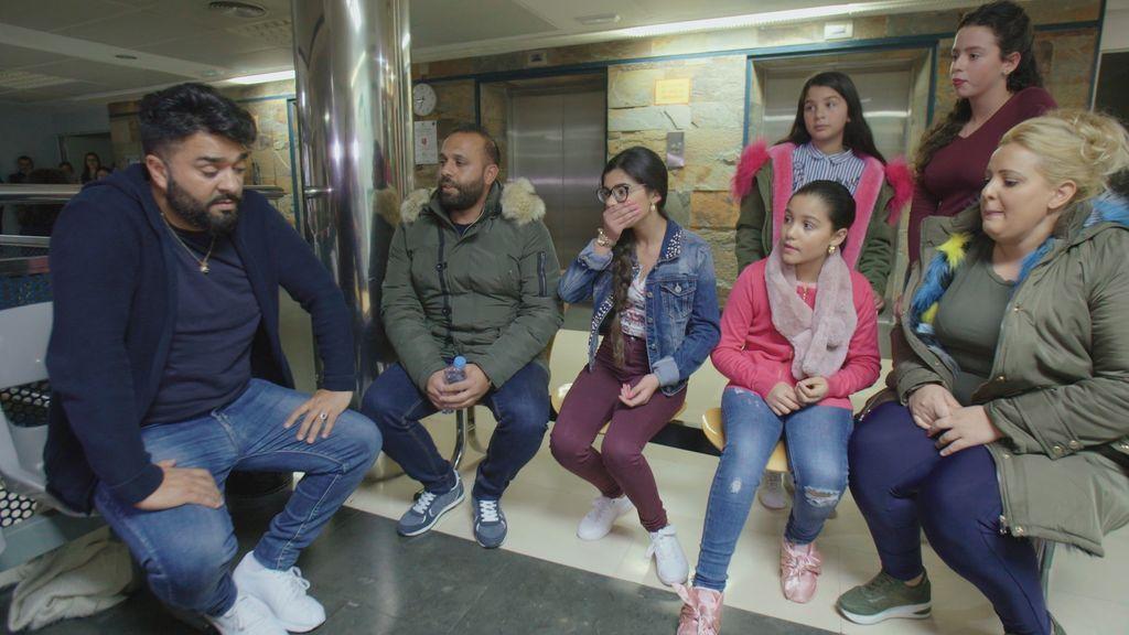 Los Jiménez, en el último episodio de 'El embarazo de la Rebe'.