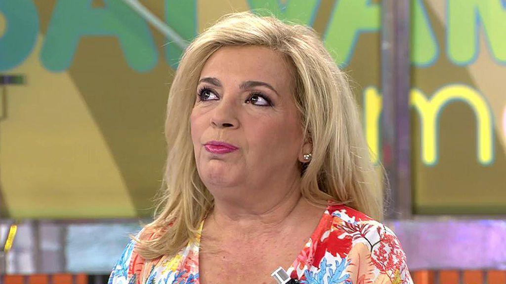 """Carmen Borrego, tras la operación de Terelu: """"Hacía muchos años que no lloraba tanto"""""""