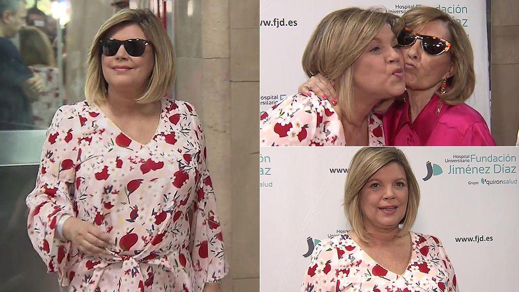 La salida de Terelu Campos del hospital tras ser intervenida de un cáncer de mama
