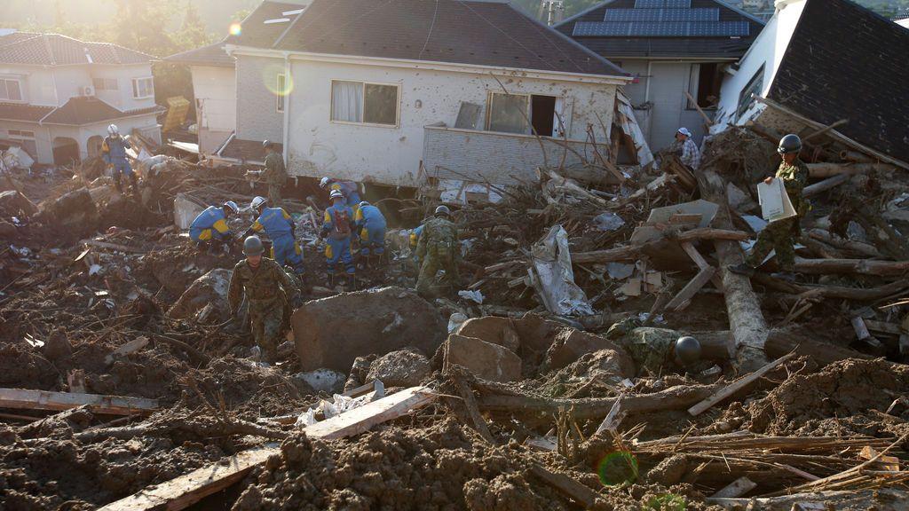 La peores lluvias torrenciales en 36 años en Japón dejan casi 200 muertos