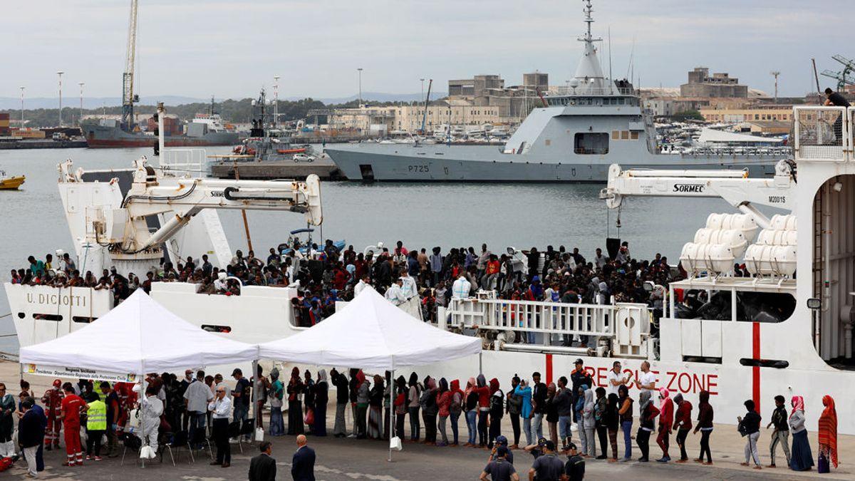 El ministro de Interior italiano prohíbe el desembarco de migrantes del 'Diciotti'