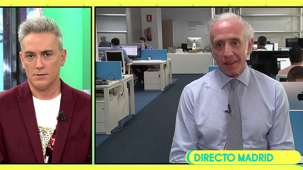 """Eduardo Inda, sobre el escándalo de Corinna: """"Hay mucha información que saldrá en los próximos días"""""""