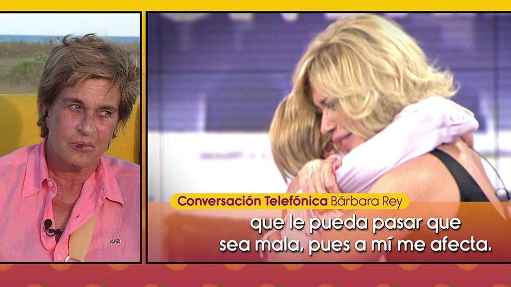 ¡Barbara Rey desbloquea a Chelo García Cortés de WhatsApp tras su brutal caída! ¿Reconciliación a  la vista?