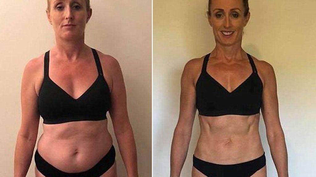El sorprendente cambio físico de un hombre y una mujer en tan solo ocho semanas