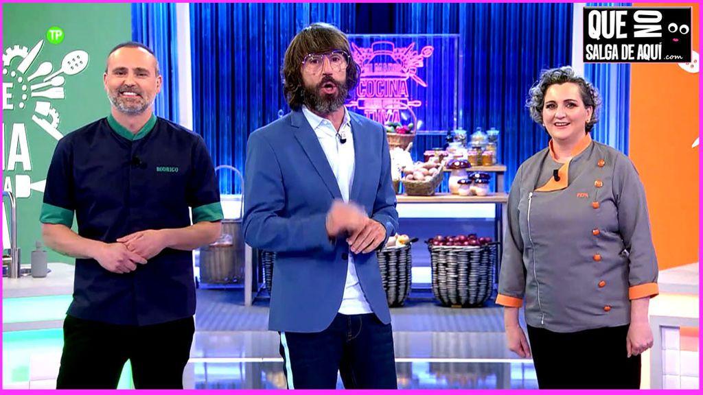 """Rodrigo de la Calle y Pepa Muñoz: """"Las Brilli-Brilli Salazar nos han dejado flipados cocinando"""""""