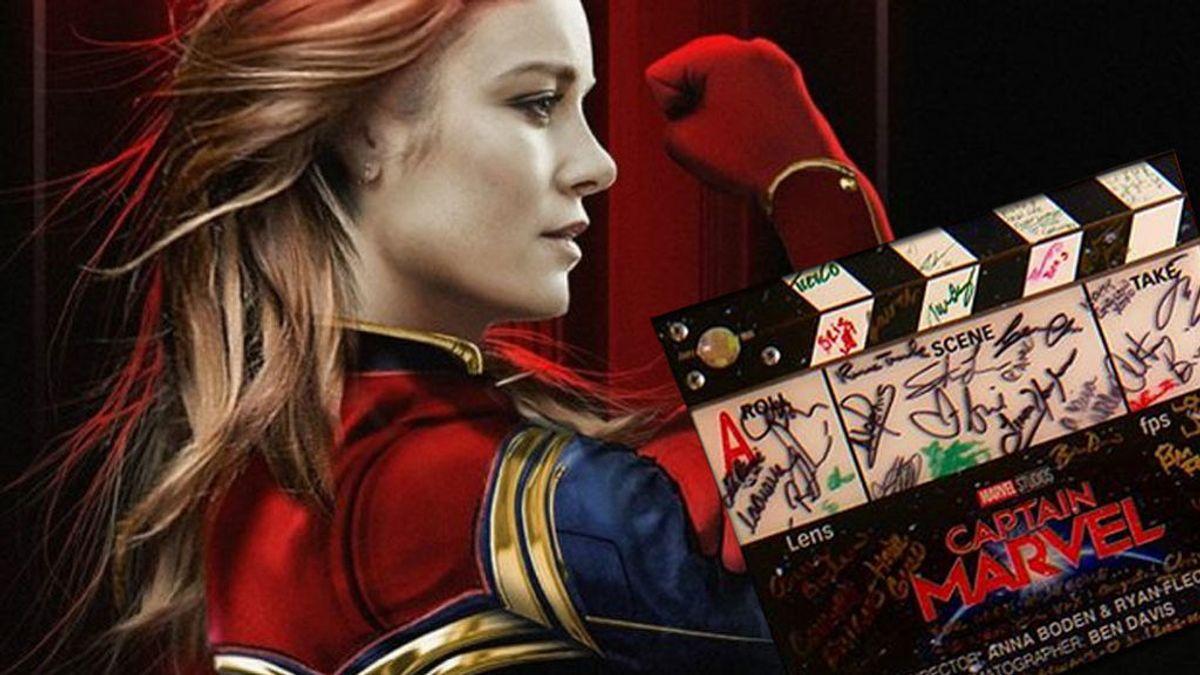 Brie Larson anuncia el final del rodaje de 'Capitana Marvel'