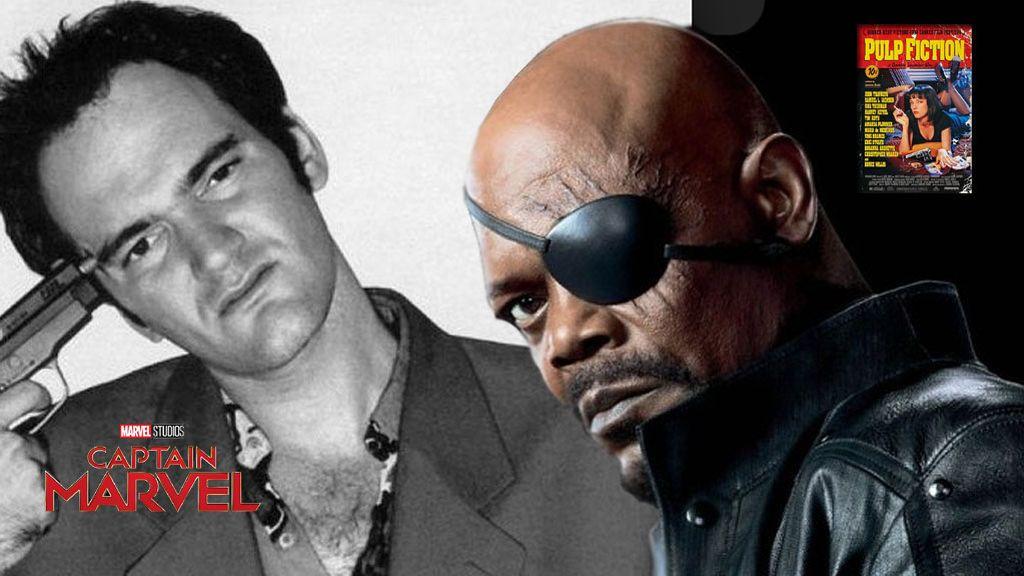 Tarantino y Marvel unidos en 'Capitana Marvel'