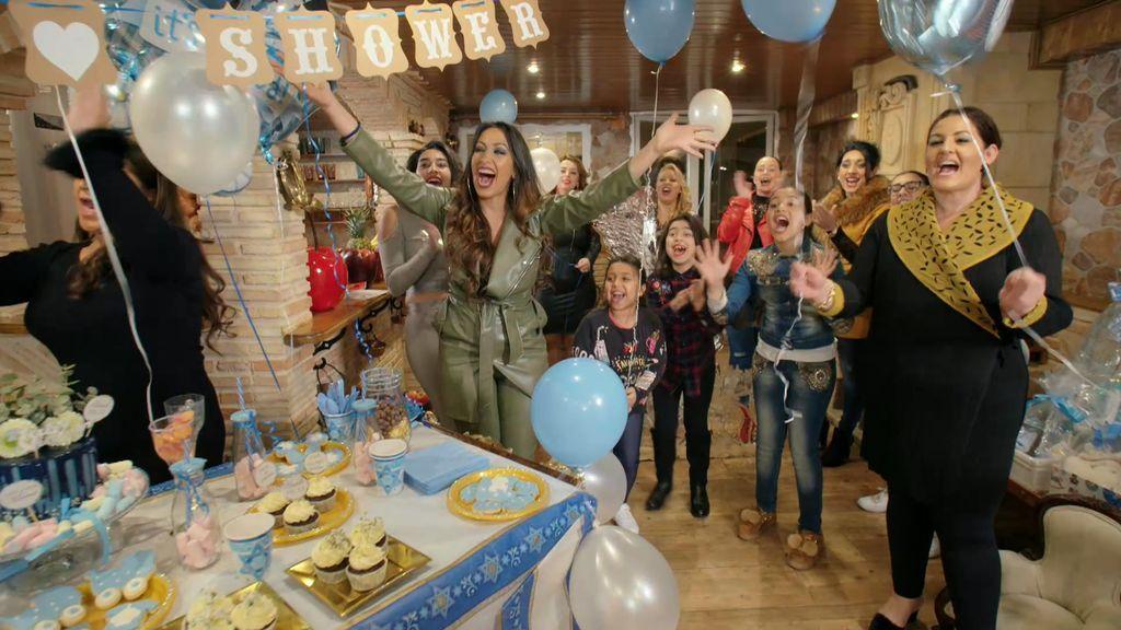 ¡Que empiece la fiesta! Por fin ha llegado el 'baby shower' de La Rebe