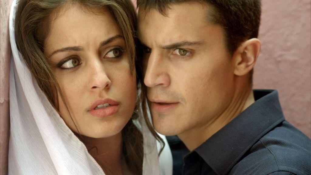 Fátima y Morey, en 'El Príncipe'.