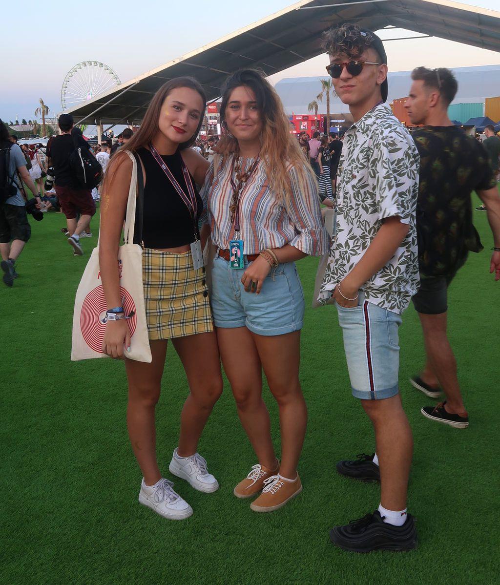 Shorts, estampados hawaianos y bien de glitter: lo más granado del street style del Mad Cool 2018