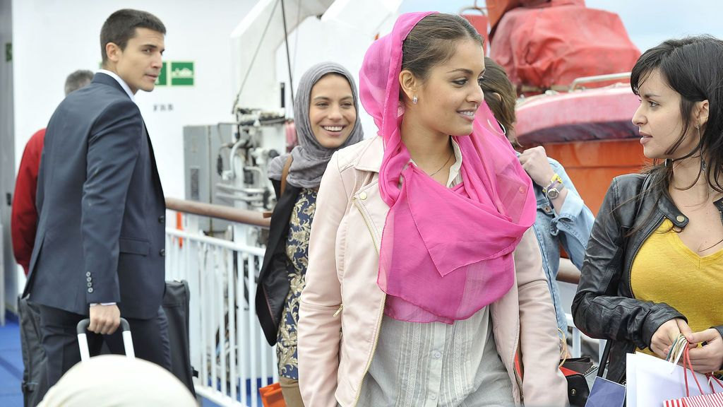 Hiba Abouk, en 'El Príncipe'.