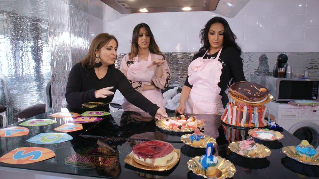 Las Salazar ensayan para el 'baby shower' de La Rebe pero el resultado es desastroso