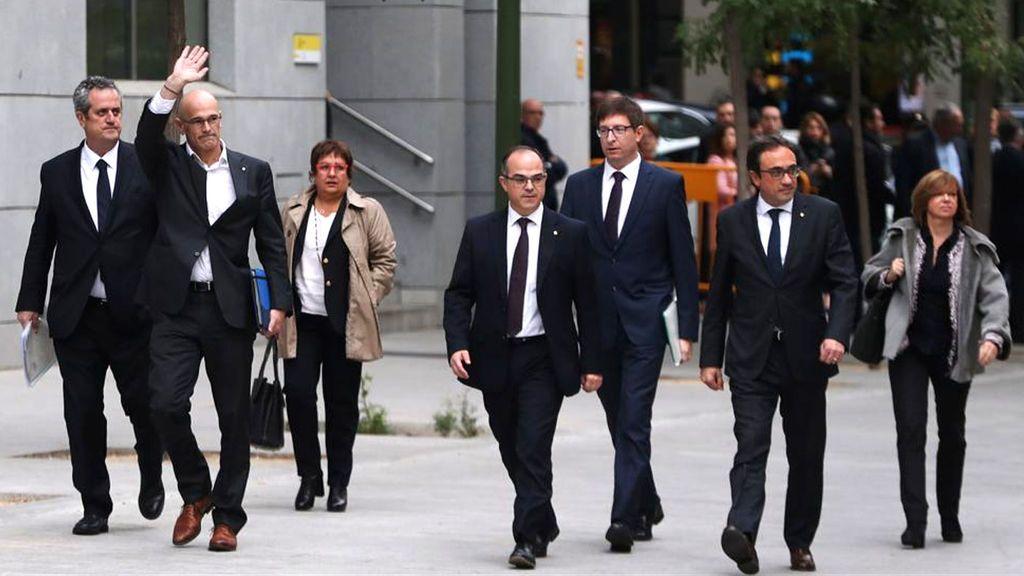 Los políticos independentistas presos pedirán la libertad después de que la Justicia alemana  descartara el delito de rebelión