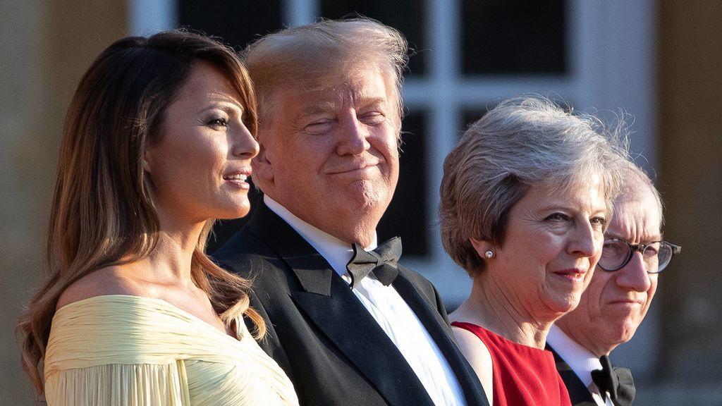 Troleo británico: que  'American Idiot' sea número uno durante la visita de Trump