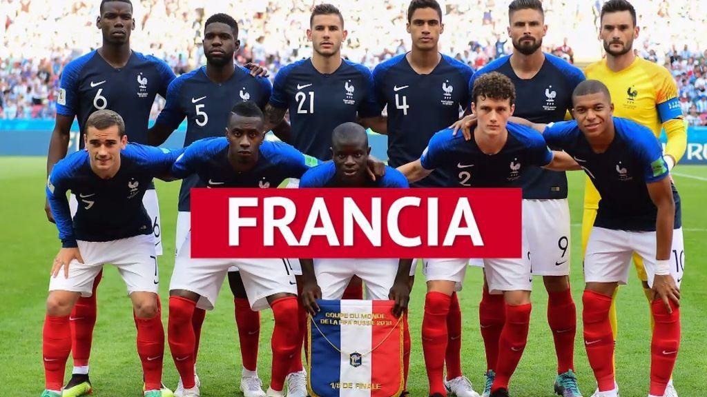 El camino de Francia hasta la final del Mundial de Rusia