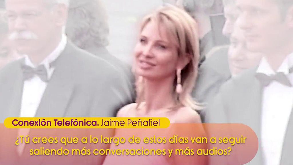 """Jaime Peñafiel tacha de venganza la polémica de los audios de Corinna: """"Es una mujer muy muy peligrosa"""""""