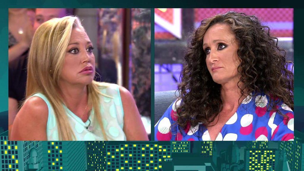 Dulce se niega a hablar de la ruptura entre Isa Pantoja y Alberto y se lleva un rapapolvo de Belén Esteban