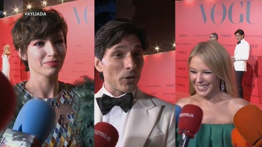 El tenso encuentro entre Velencoso, Úrsula Corberó y Kylie Minogue con drama incluido