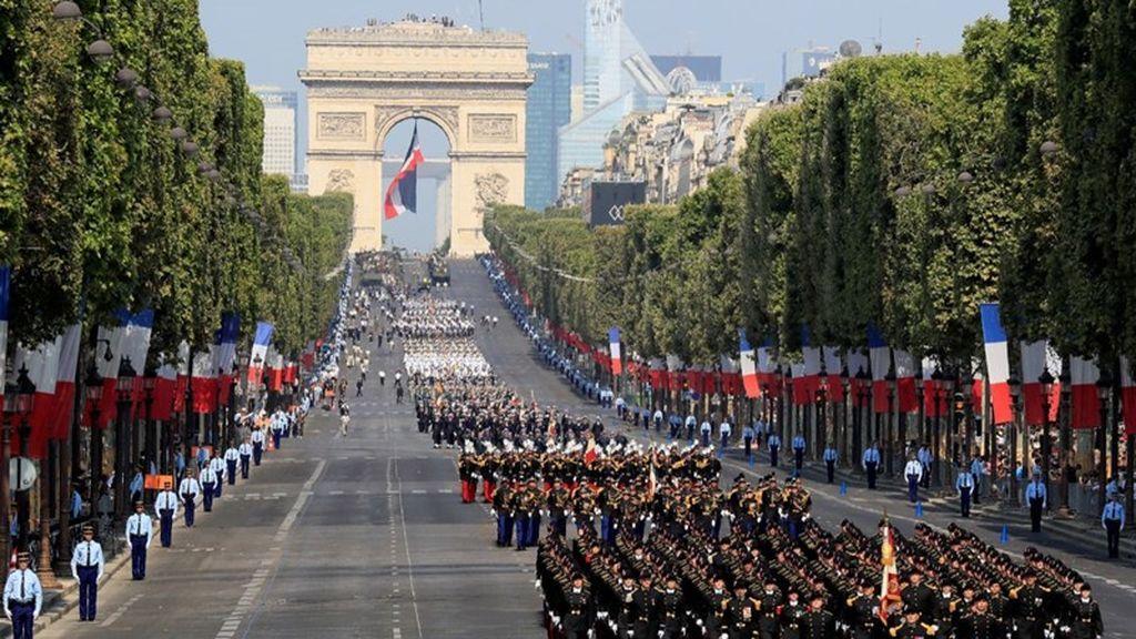 Mas De 4 700 Militares Participan En El Desfile Del 14 De Julio