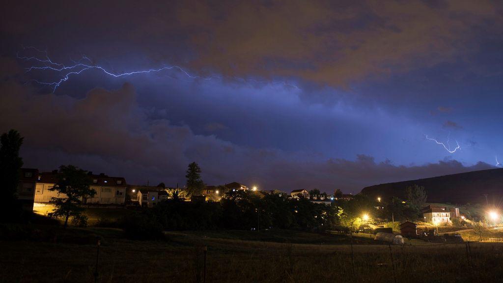 Tormenta en Cantabria