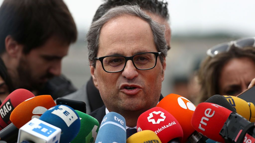 """Torra: """"No me detendré hasta que los exiliados y los presos políticos sean libres"""""""