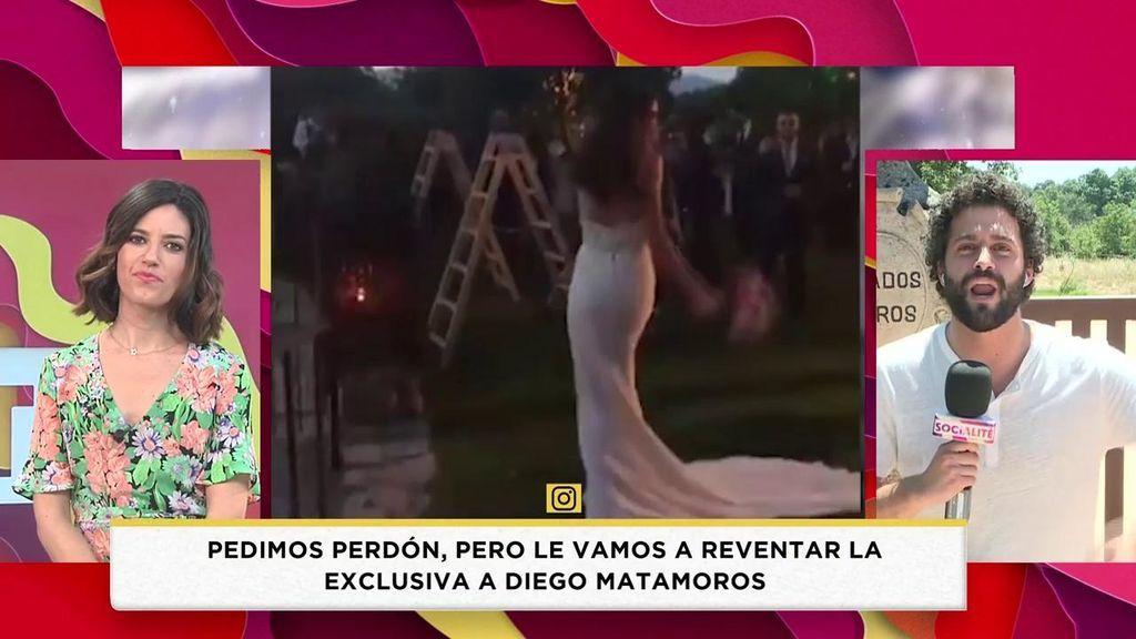 Reventamos la exclusiva de Diego Matamoros y Estela Grande: ¡El vestido y todos los detalles!