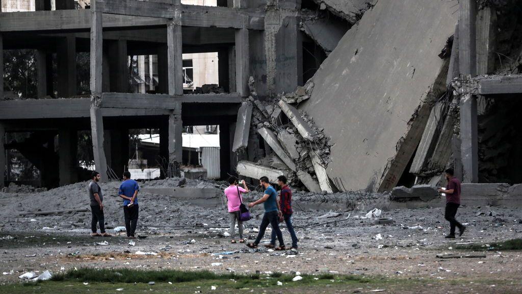 palestinos heridos