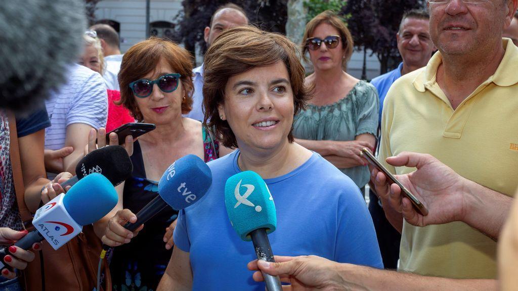 """Santamaría replica a Casado: """"los intereses del partido están por delante"""" del debate"""