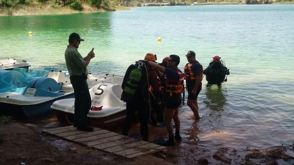 Encuentran el cadáver del joven perdido en una excursión por las Lagunas de Ruidera