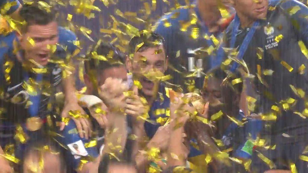 Lloris levanta al cielo de Luzniki la Copa del Mundo: Francia, campeona de 2018