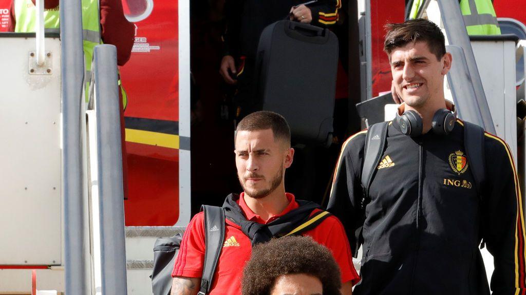 "Courtois se deja querer por el Real Madrid: ""Donde vaya Hazard voy yo"""