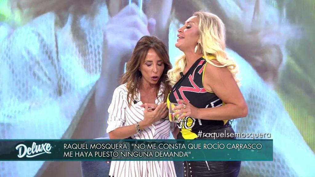 """Raquel Mosquera estalla: """"Si a mí Rocío Carrasco me denuncia, voy a muerte"""""""