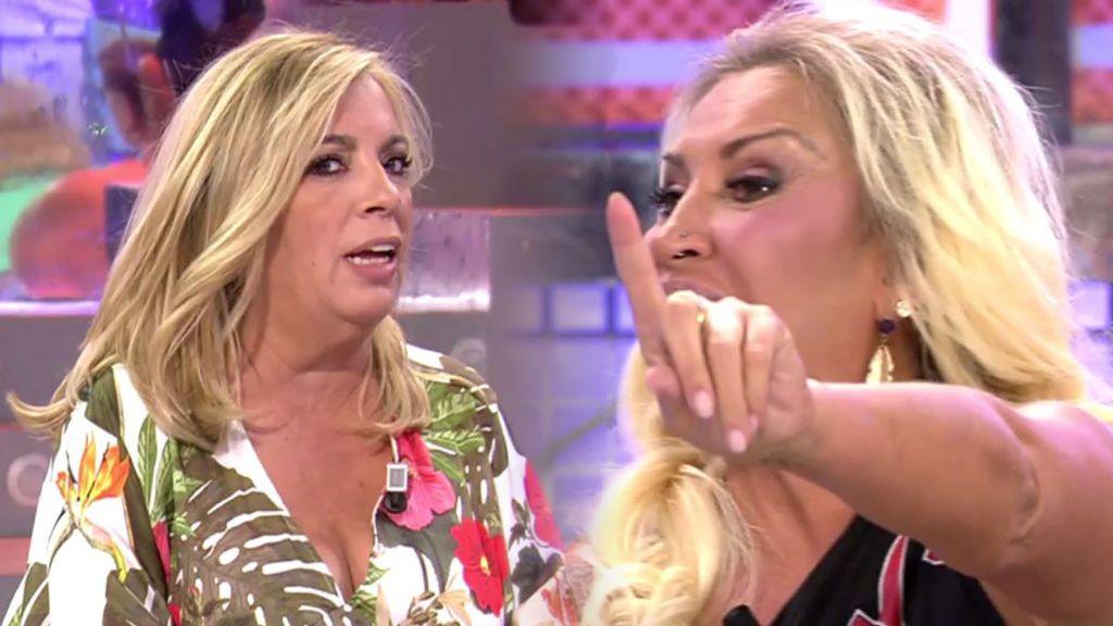 """Raquel Mosquera responde al misil de Carmen Borrego: """"Tú también hablas de Rocío Carrasco"""""""