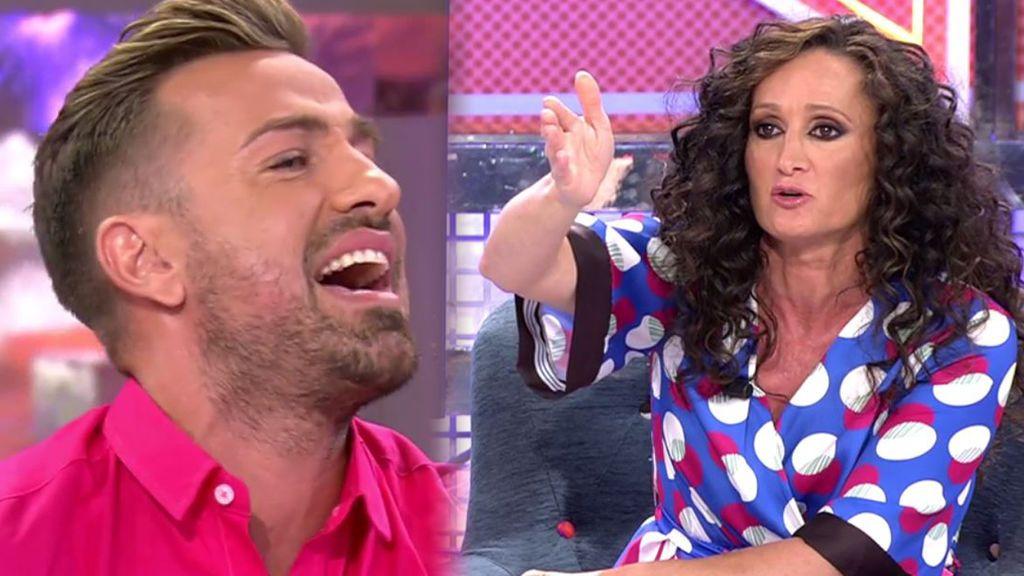 Rafa Mora estalla contra Dulce en defensa de su amigo Kiko Rivera