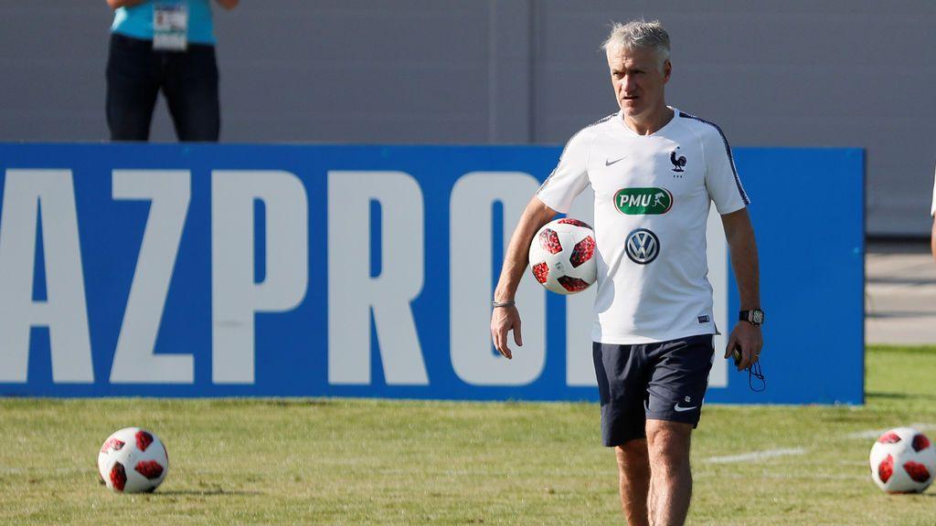 """Deschamps pide a sus jugadores que sigan la regla de las """"tres C"""" para la final ante Croacia"""