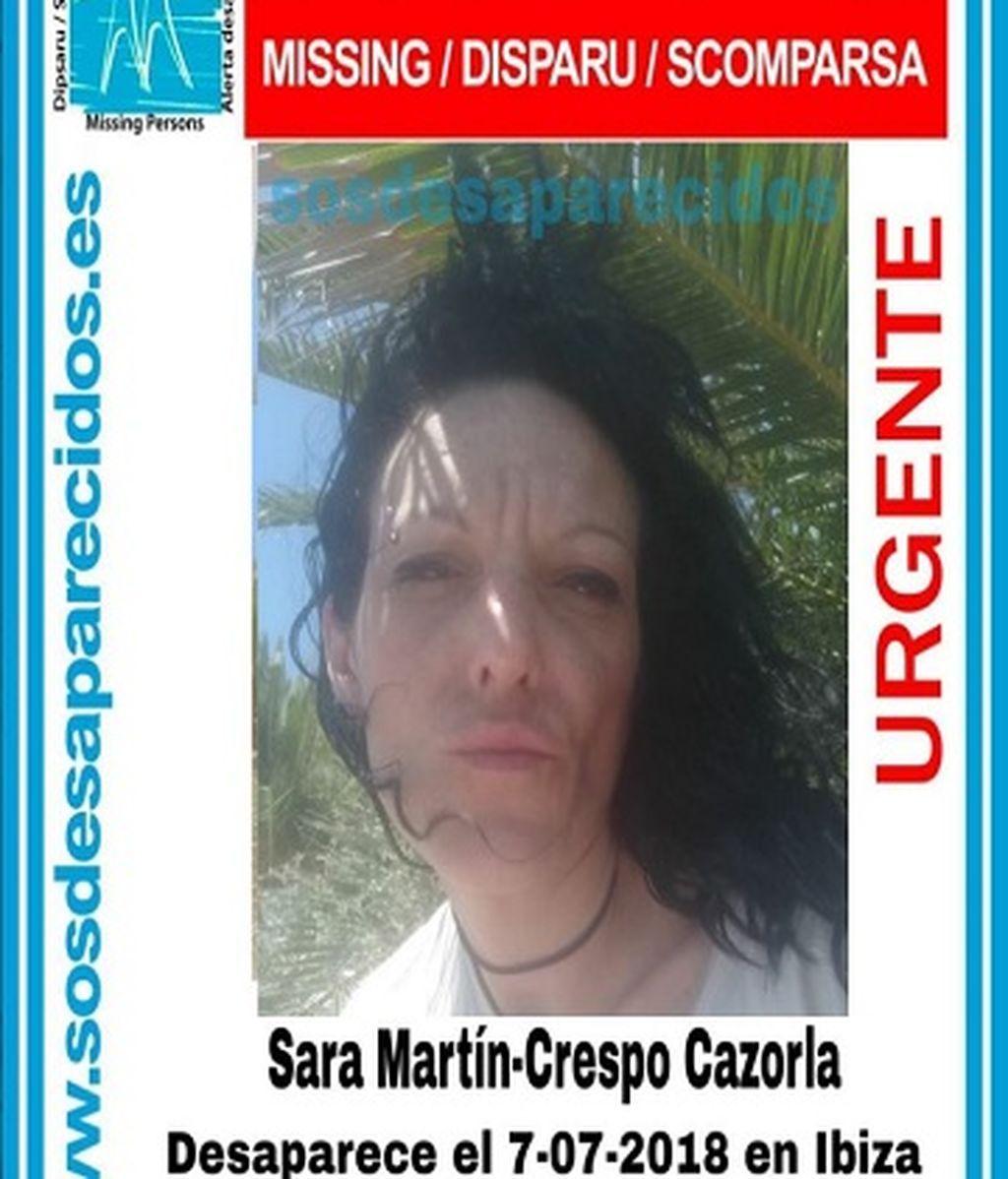 Mujer desaparecida en Ibiza desde el 7 de julio.