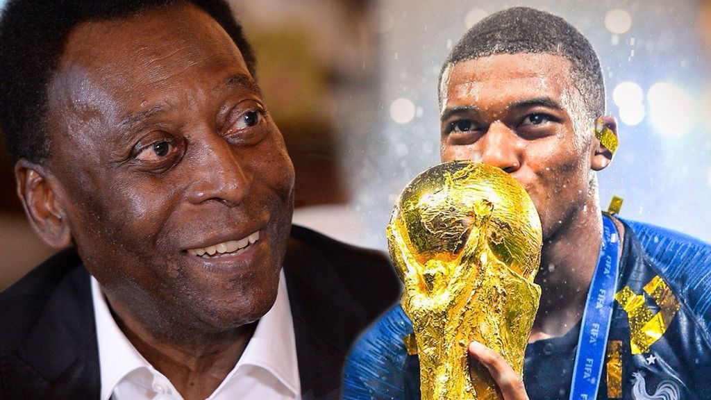 Pelé se rinde a Mbappé y el francés deja a todos boquiabiertos con su respuesta