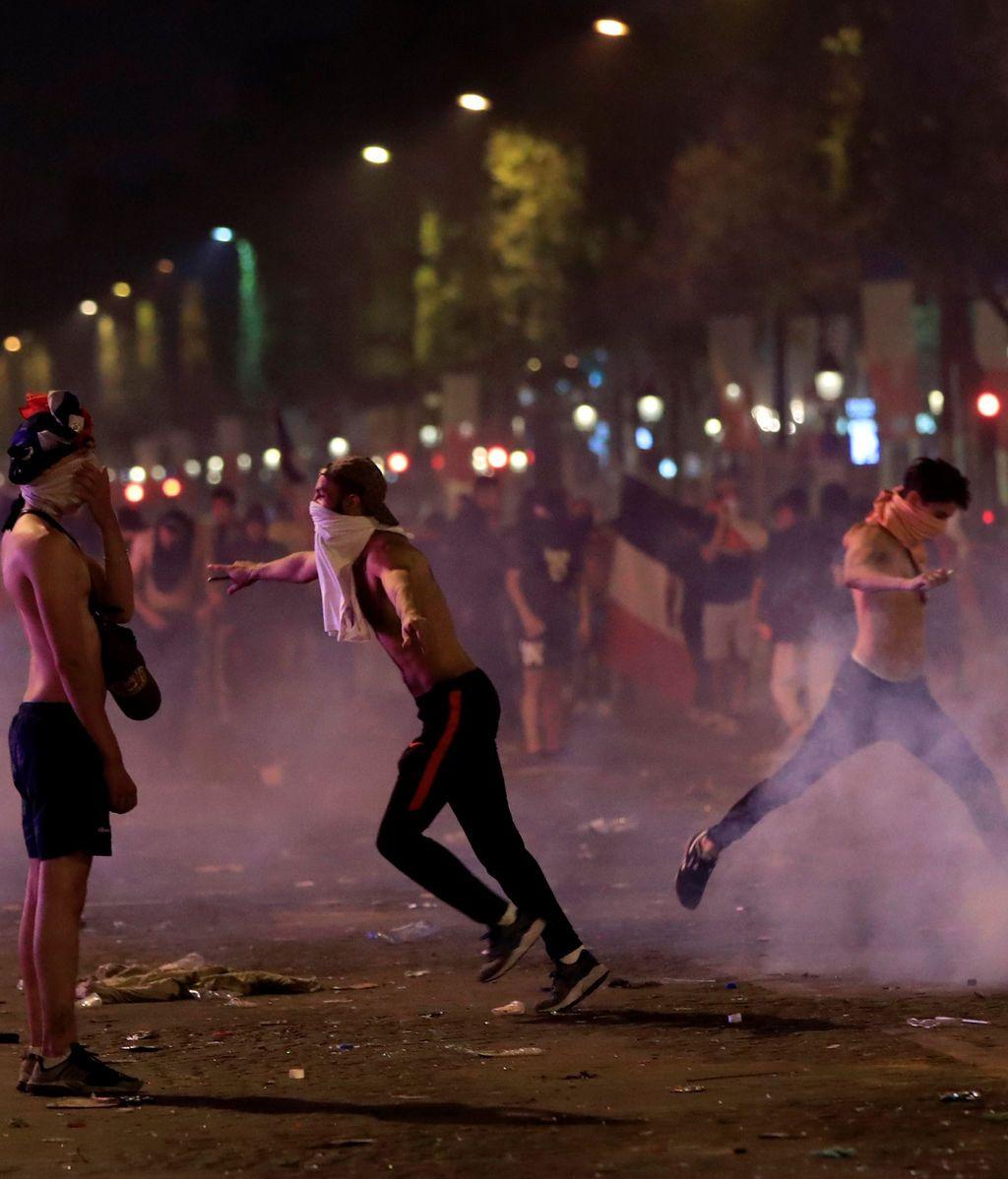 Incidentes en Francia