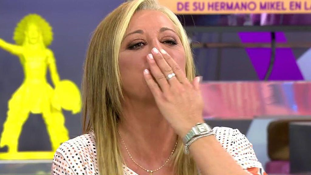 """El arranque de cariño de Belén Esteban a María Patiño: """"El rey es el rey pero tú eres tú. Te quiero"""""""
