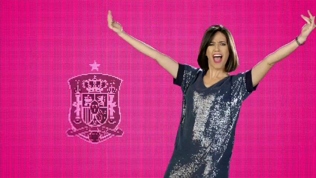 ¡Vamos España! Los presentadores de 'Cazamariposas' bailan por el Mundial
