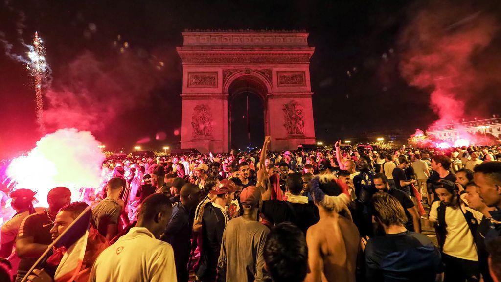 París: disturbios en los festejos tras la obtención de una nueva Copa