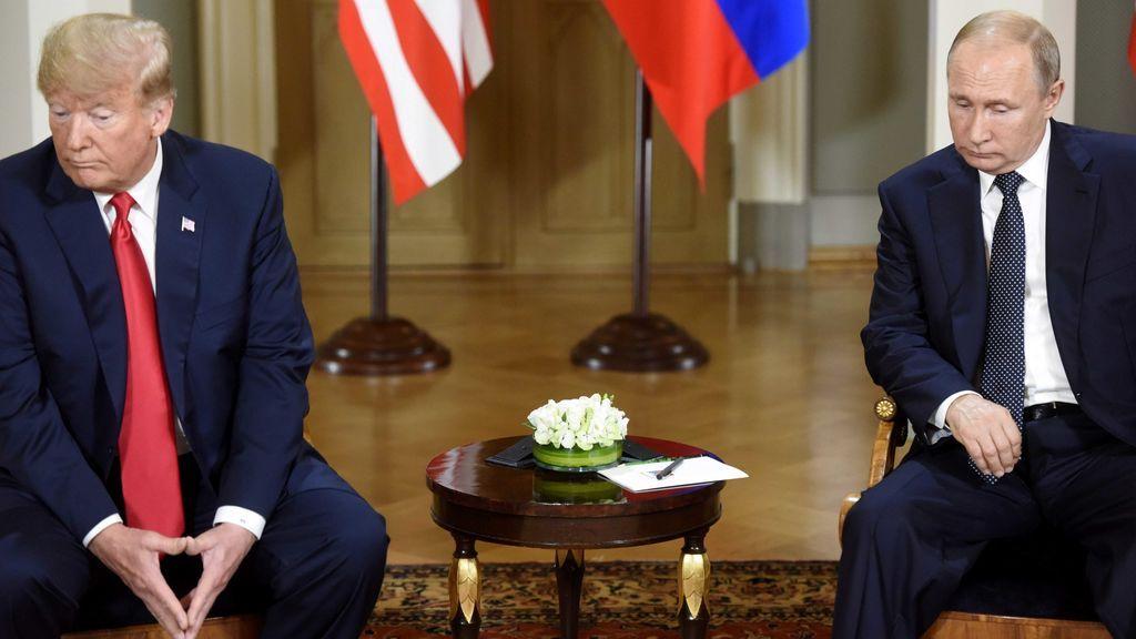 'Cara a cara' entre Trump y Putin en el palacio presidencial de Hensilki