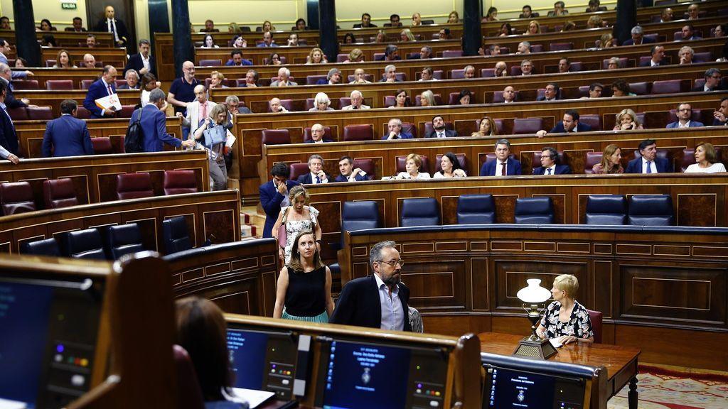 El Congreso pierde la mayoría para el Consejo de RTVE por un error y dos ausencias