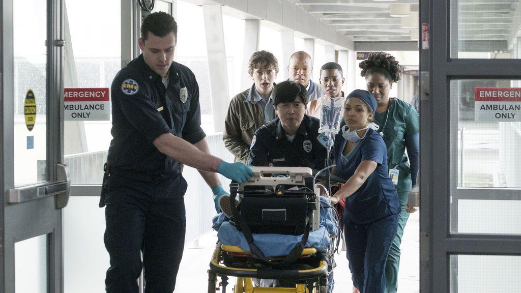 Imagen del primer capítulo de 'The good doctor'.